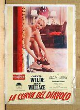 LA CURVA DEL DIAVOLO fotobusta poster The Devil's Hairpin Wilde Wallace BV30