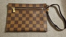 Authentic Louis Vuitton Cliffton Pochette In Damier Ebene