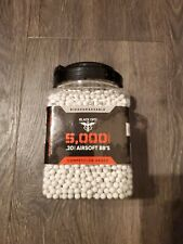 New listing Black Ops .20g Competition Grade Premium Biodegradable 6mm Airsoft BB 5000 Count