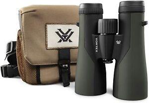 New Vortex 12x50 Crossfire HD Waterproof Binoculars and Case *OFFICIAL UK STOCK*