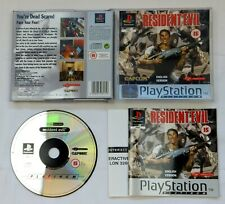 PLATINUM RESIDENT EVIL GAME FOR PLAYSTATION 1 PS1 PS2 PS3 COMPLETE PAL UK
