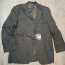 MENS  GREY WIDE PINSTRIPE Suit JACKET Office JOHN LEWIS 40S