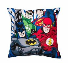 Nuevo Super Suave Almohada Cojín De Liga De La Justicia Chicos Niños Batman De Regalo Dormitorio Flash