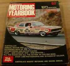 1973 Australian COMPETITION YEARBOOK.Bathurst.Brock  XU-1.GTHO.Motor Car Racing