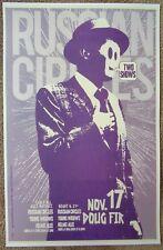 RUSSIAN CIRCLES 2009 Gig POSTER Portland Oregon Concert