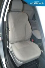 Coverking Polycotton Drill Front Custom Seat Covers for Toyota Prius