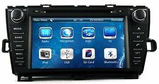 "8"" In Dash 2 DIN Car Stereo Radio DVD Player GPS Navigation For Toyota Prius RHD"