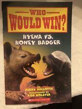 Hyena vs  Honey Badger  Who Would Win    20