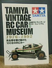 Tamiya Vintage RC Car Museum 1976-1992 book photo buggy art Magazine w/Track