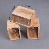 Gag Prank Spider Box Wooden Hidden Trick Box Joke Adult Funny Horror Scarry Gift