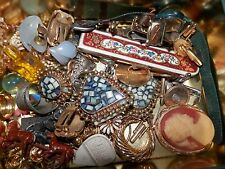 "VINTAGE ESTATE FIND JEWELRY LOT ""JUNK DRAWER"" UNSEARCHED UNTESTED"