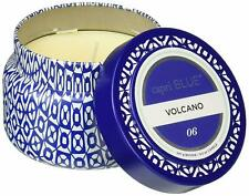 Aspen Bay Capri Blue Volcano Printed Tin Candle