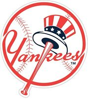 "New York Yankees MLB Color Vinyl Decal - You Choose Size 2""-28"""