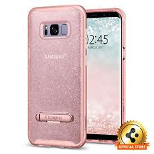 Spigen Galaxy S8 Crystal Hybrid Glitter Rose Quartz
