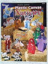 Plastic Canvas Pattern Nativity The Complete Scene Manger Mary Joseph Wisemen