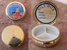 caja para pastillas san tropez colección, pill box francesa, vintage cote azure