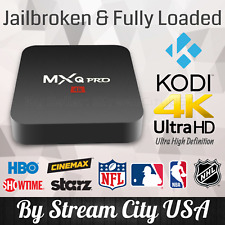 MXQ Pro 4K UHD 64Bit Android 7.1 Quad Core Smart TV Box KODI 17.6 & Much More