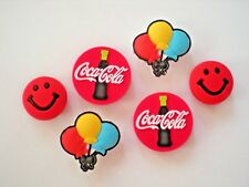 Clog Shoe Charm Button Plug Accessories Bracelet WristBand Coca Cola
