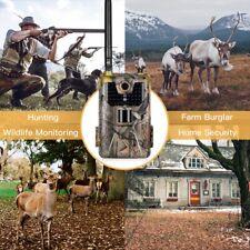 Campark Trail Game Camera 20MP 1080P Waterproof IR Hunting Scouting Wildlife aml