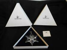 Swarovski CRYSTAL Christmas tree ORNAMENT 2000  MINT condition 2  boxes certific