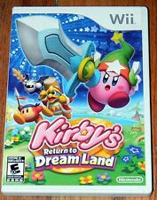 KIRBY'S RETURN TO DREAM LAND ~ Nintendo Wii ~ 2011 ~ Complete in Case ~ Manual