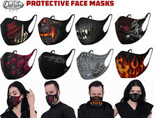Spiral Breathable Face Skull Rose Dragon Cat Dust Pollen Ski Cycling