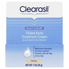 Clearasil Daily Clear Tinted Acne Treatment Cream 1 oz