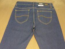 025 WOMENS NWT LEE SUPATUBE SUPER STRETCH MEDM BLUE STRETCH JEANS 11 $150.