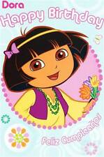 "Official ""DORA THE EXPLORER"" Birthday Card"