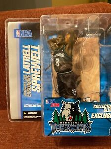McFarlane NBA Collectors Exclusive Latrell Sprewell Figure Timberwolves