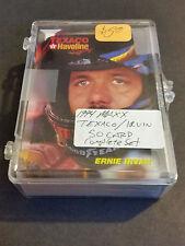 1994 NASCAR Maxx Texaco Ernie Irvan Team Set - 50 Cards