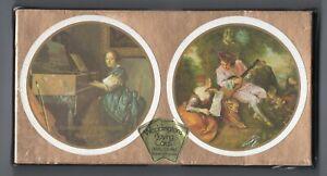 #N.024 Vintage Swap / Playing Card SEALED DECK, Waddingtons Circular, Paintings
