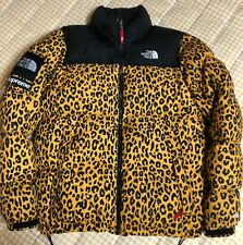 Supreme The North Face Collaboration 11Aw Leopard Nupsi Down Jacket Size M