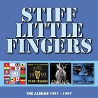 ALBUMS 19911997 4CD CLAMSHEL - STIFF LITTLE FINGERS [CD]