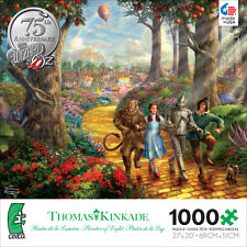Thomas Kinkade Follow The Yellow Brick Road 1000 Ceaco Jigsaw Puzzle