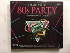 80's Party - Greatest Ever! CDs  Duran Duran/Nena/Erasure... NEW Sealed CD41