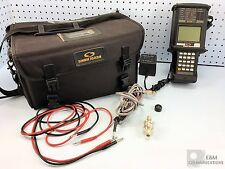 SST1 SUNRISE TELECOM SUNSET HANDHELD T1 CABLE ANALYZER WITH CASE AND PWR ADAPTER