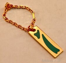 """ST. DUPONT 1993 LIMITED EDITION """"ART NOUVEAU"""" KEYCHAIN GREEN CHINESE LACQUER"""