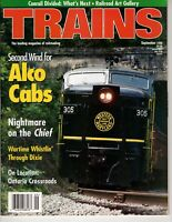 Trains Magazine Railroading Sept 1998 Western Maryland Fast Freight Line