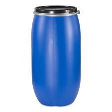150 L Deckelfass Plastiktonne Fass Behälter Box Kunststofftonne Plastefass NEU.