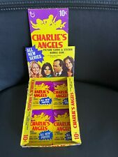 1977 CHARLIE'S ANGELS Series 3 Box with 18 Packets Topps not Scanlens