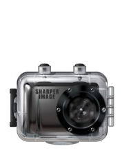 Sharper Image Svc555 720P Action Cam With Waterproof Case Black Black Friday