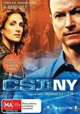 CSI: NY : Season 3 (DVD, 2009, 6-Disc Set)
