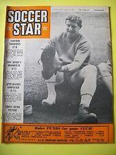 Soccer Star Magazine, 13.08.1965. Derek Kevan of Crystal Palace on Front