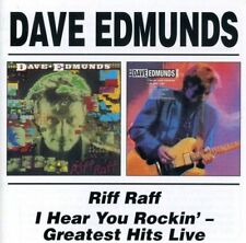 Dave Edmunds ‎– Riff Raff/I Hear You Rockin': Greatest Hits Live (2002)  CD  NEW