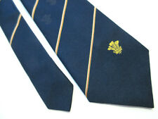 WALES WELSH CRESTED 3.75 INCH POLYESTER NECK TIE