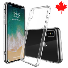 iPhone X Case Clear Ultra Thin Soft TPU Transparent Soft Back Cover
