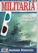 Militaria XX w. S15 -  Anatomy of Bismarck 3D, USS Nashville