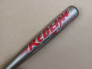 "Easton RedLine Sc500 Baseball Bat (-5) 33""/28oz BZ1-C C-CORE Scandium RARE!"