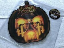 King Diamond Halloween Picture Shape Pic Single (Mercyful Fate Slayer Jag Panzer